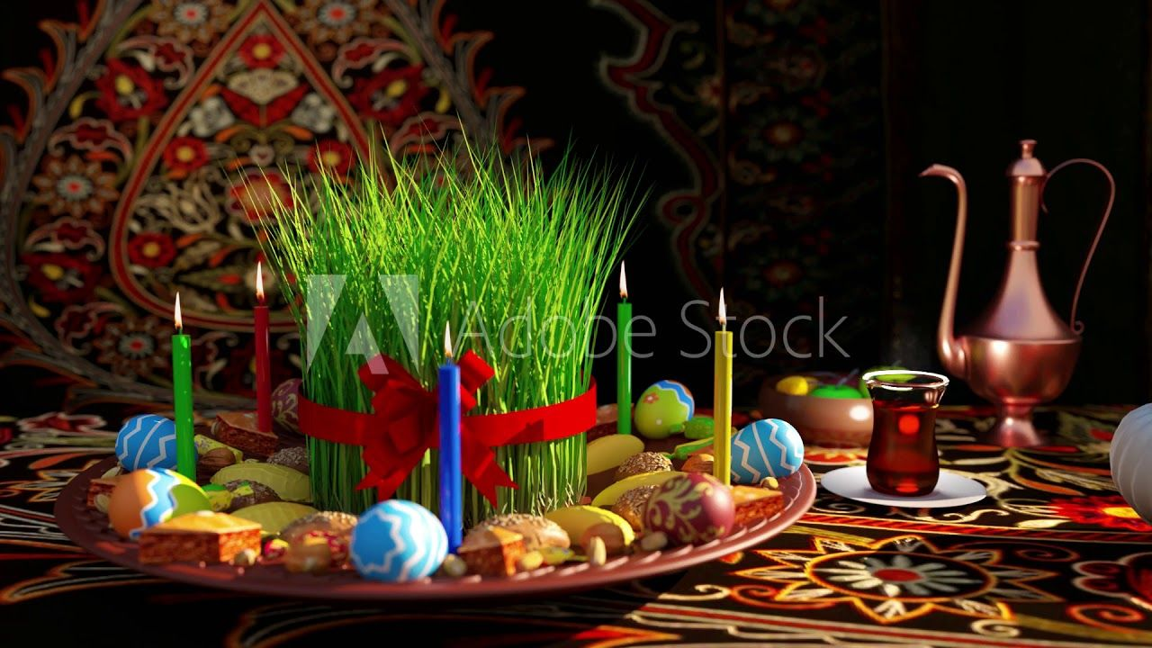 Novruz Semeni Bayram Xoncasi Footage Loop Holiday Spring Make It Yourself