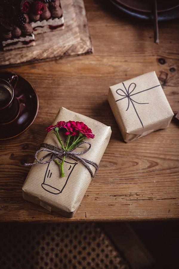 Zahlenkuchen zum 30. Geburtstag - so geht's ganz ohne Backen #geschenkeverpacken