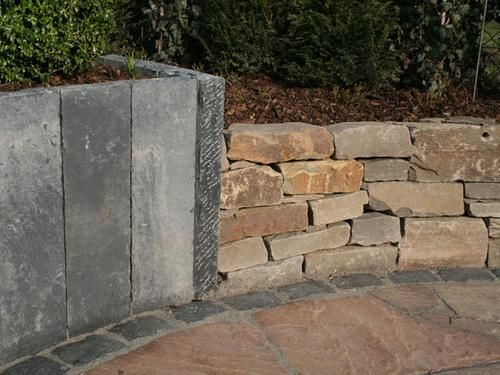Impressionen  Poetsch-mit Stein gestalten, Pflastersteine, Platten - garten mit natursteinen gestalten