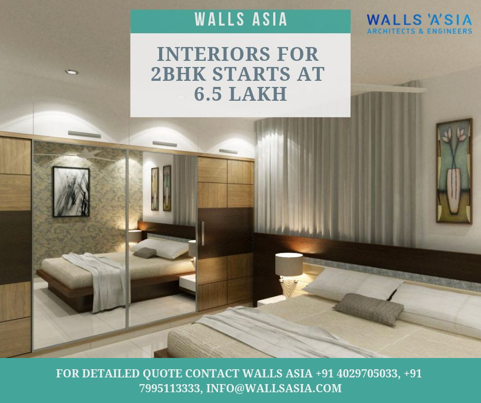 Interior designs for bhk by walls asia architects and int  design wallpaper also rh pinterest