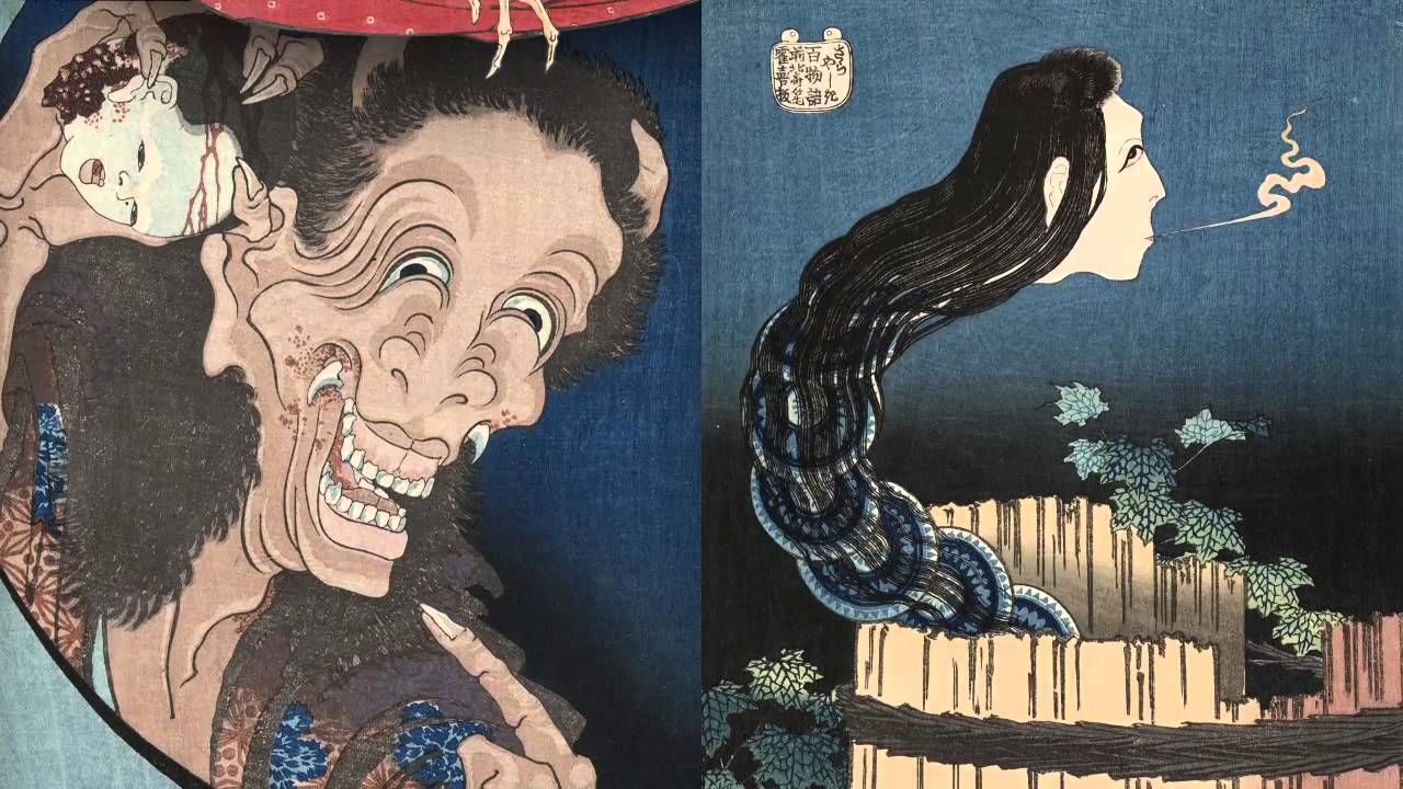 Hokusai japanese art dynamic painting japanese artists