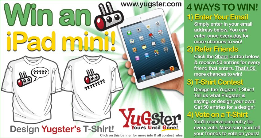 Enter To Win An Ipad Mini From Yugster Com Daily Deals Http Www Dealiciousmom Com Enter Win Ipad Mini Yugstercom Daily Deal Apple Ipad Mini Ipad Mini Mini