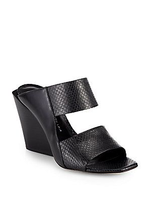 free shipping sneakernews cheap sale with paypal Derek Lam Leather Embossed Sandals buy cheap 2014 unisex 2XFuJFP0xm