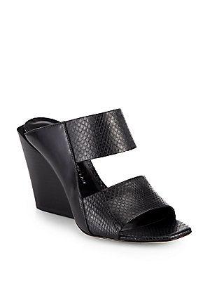 low cost online perfect Derek Lam Embossed Platform Sandals ebay sale online top quality s3WCJSIJX