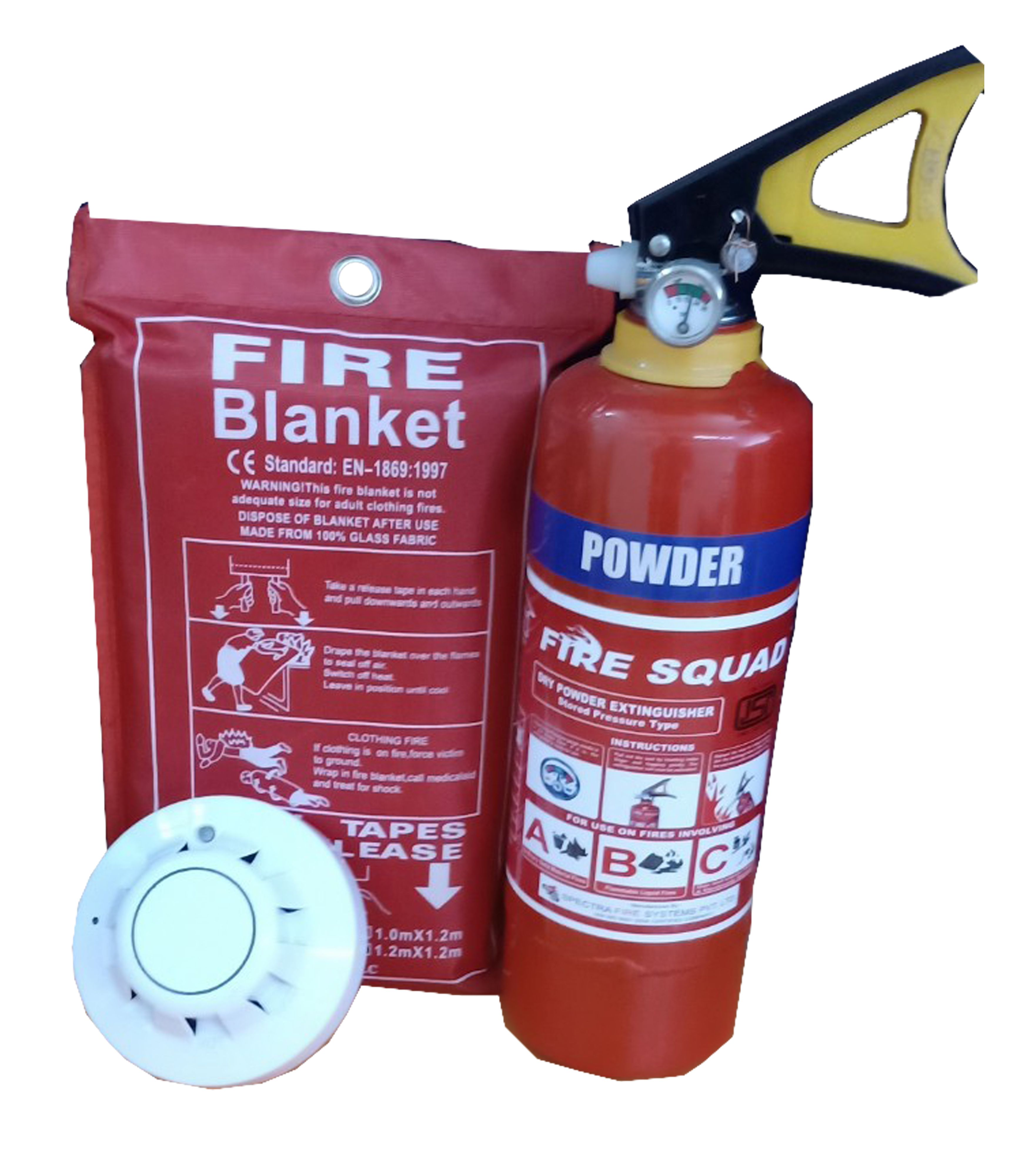 Home Fire Extinguisher & Safety Devices Fire