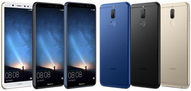Huawei Mate 10 Lite Live Picture Image Via Xda Developer One Month From Now Huawei Will Declare A Couple Of New Cell Phon Huawei Huawei Mate 10 Things