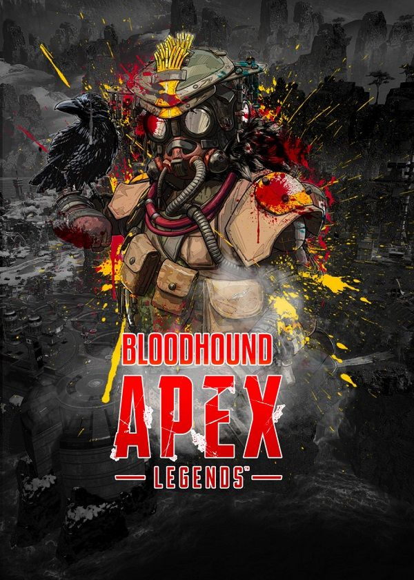 "Apex Legends Splatter Characters Bloodhound #Displate explore Pinterest""> #Displate artwork by artist ""Aohiro Art"".…   Displate thumbnail"