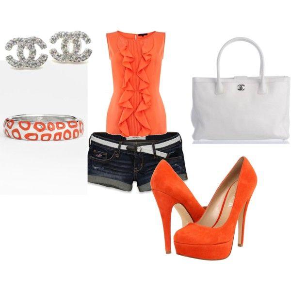 Orange!, created by sam-ryan on Polyvore