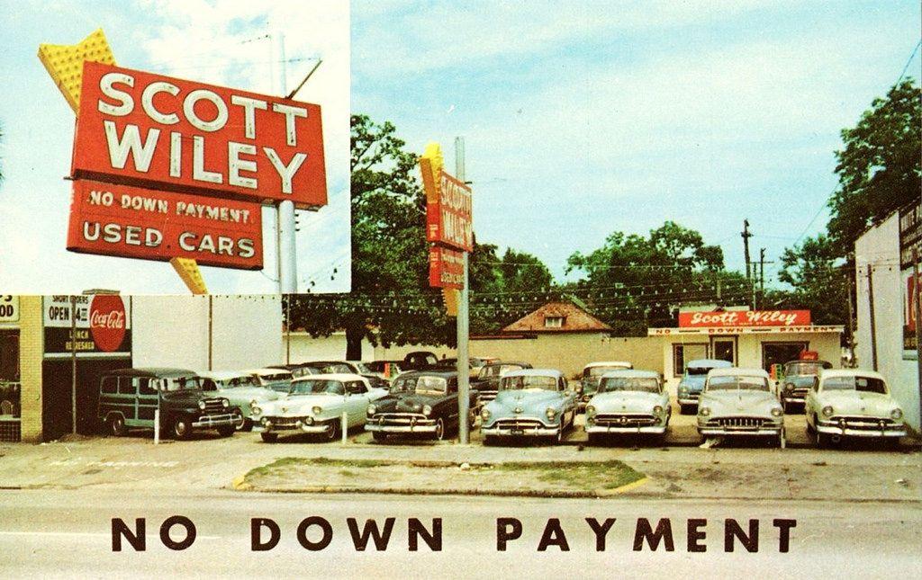 1950's Scott Wiley Used Cars Dealership, Jacksonville