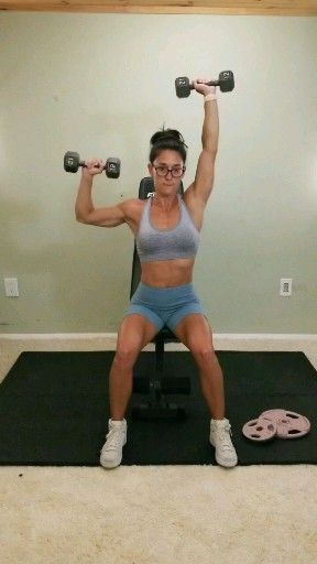 Add this shoulder exercise to your upper body workout circuit to build strength and tone flabby arms...