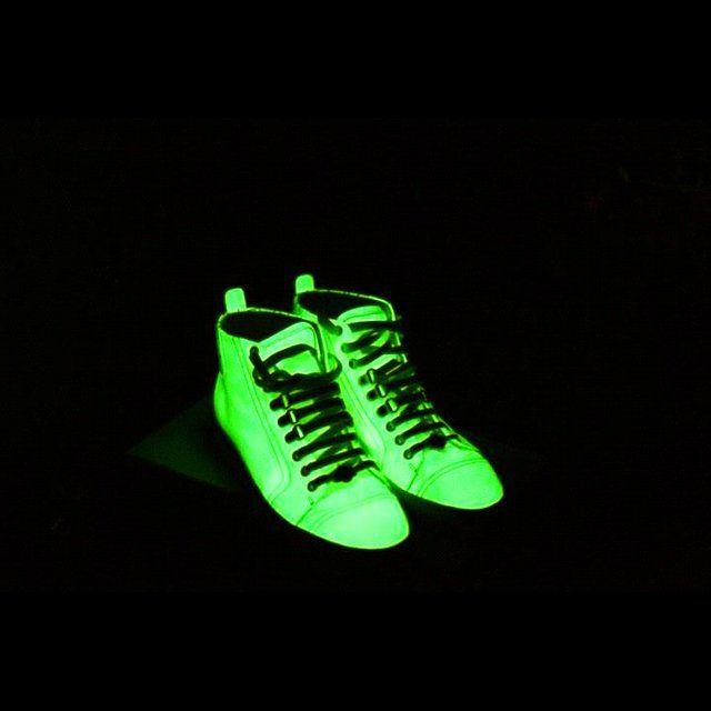 online store 10f76 1d309 zapatillas que brillan en la oscuridad!!