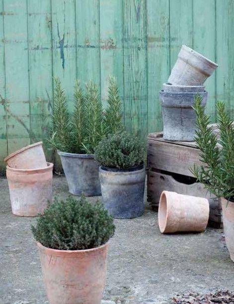 belgium terracotta pots