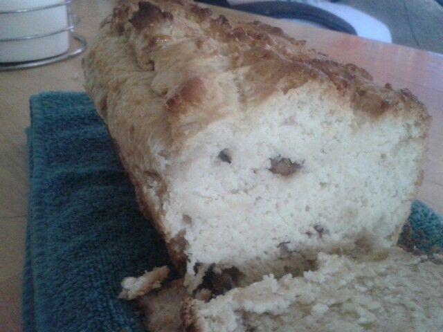 Butter pecan icecream bread