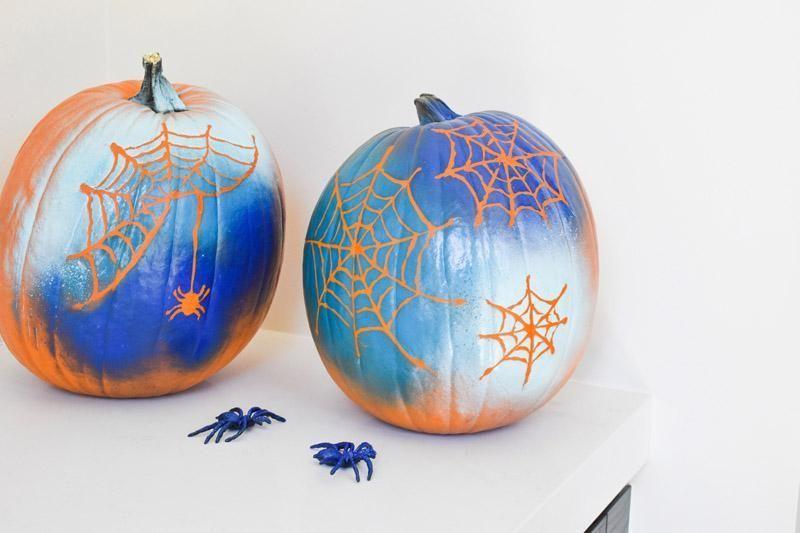 25 fabelhafte Kürbis-Malideen für Halloween # Pumpkinpaintingideascreative 2 ... #pumpkinpaintingideas