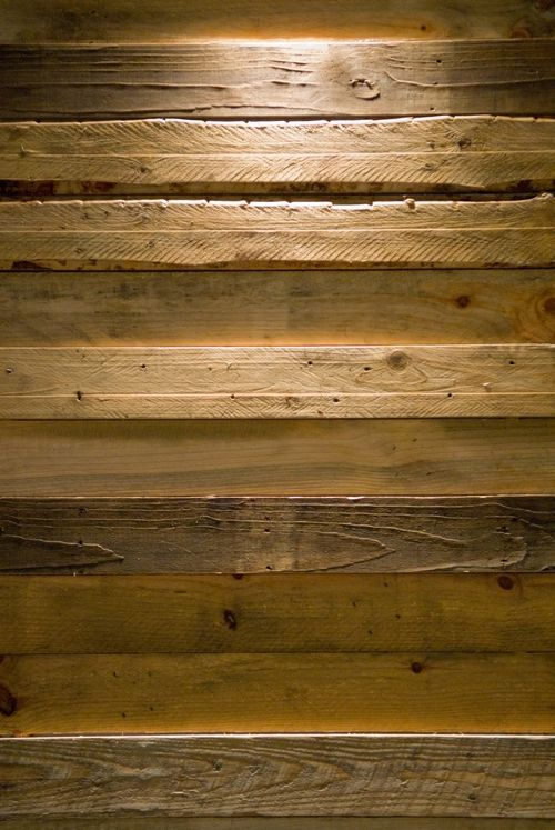 Pallet Wood Wall Look At The Texture And Hewn Edges
