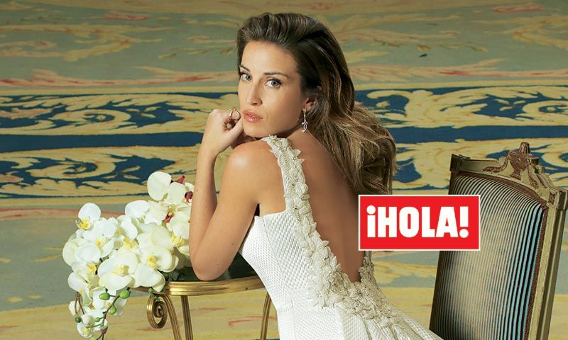 Marta Castro se viste de novia