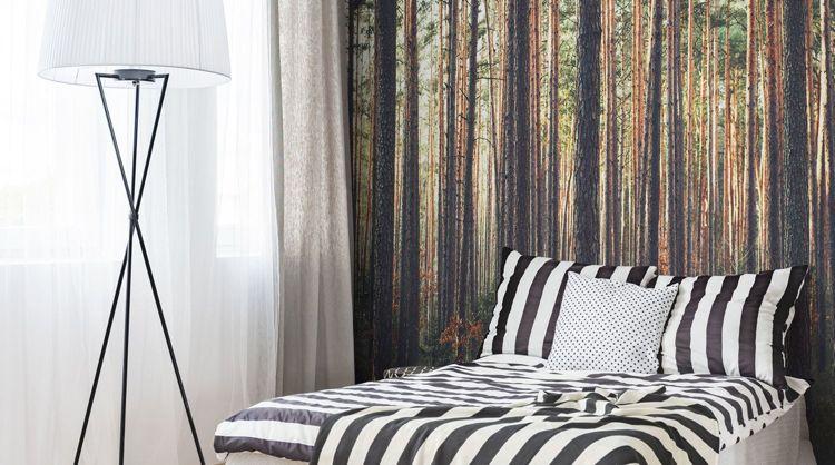 Wenn Sie Die Natur Lieben, Würde Eine Fototapete Wald Besonders Gut Zu  Ihrem Schlafzimmer Passen. Dank Der Vielfalt An Wundervollen Motiven Kann  Jeder Etwas
