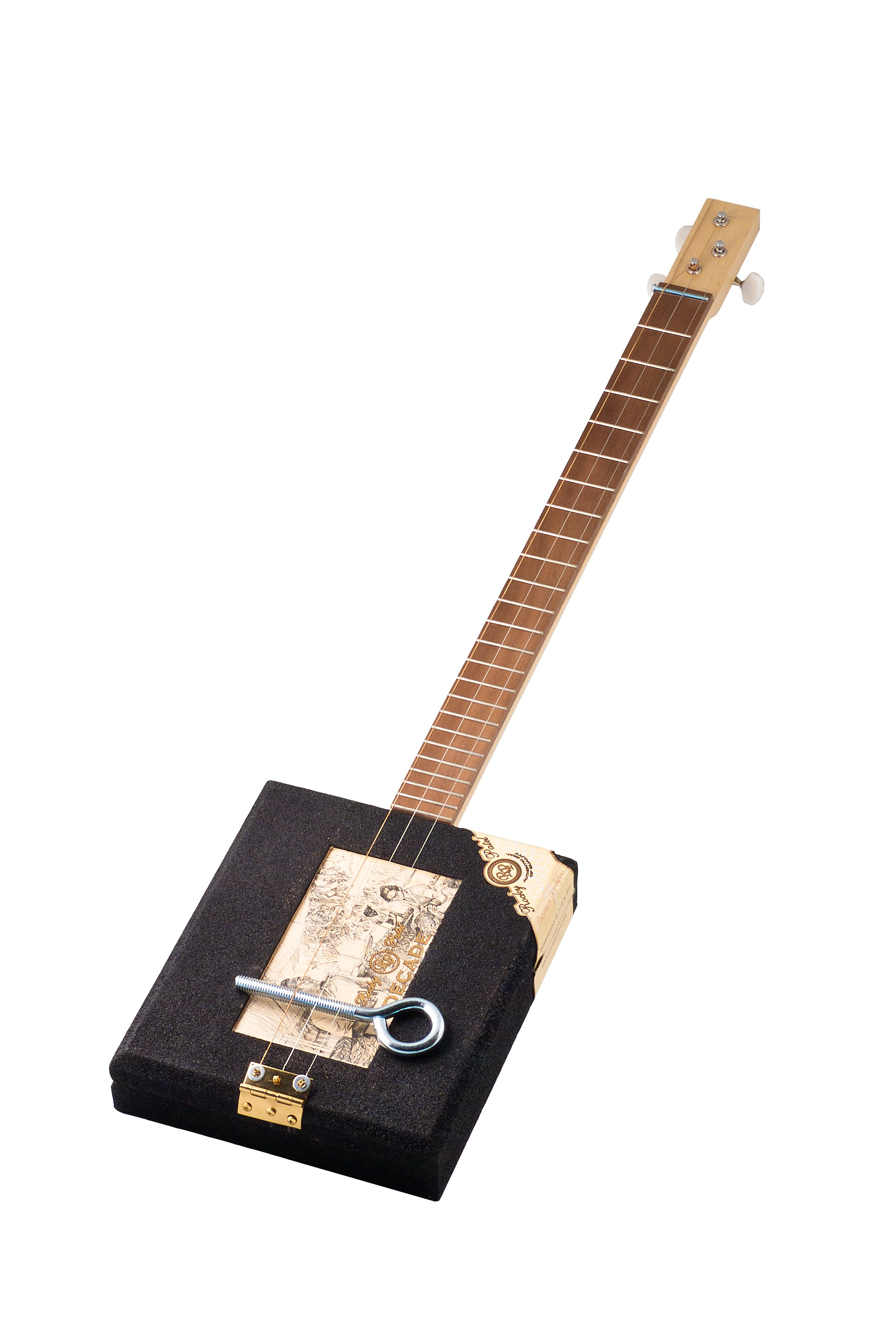 rocky patel 3 string acoustic cigar box guitar by younique ukes in strum ent 3 string guitar. Black Bedroom Furniture Sets. Home Design Ideas