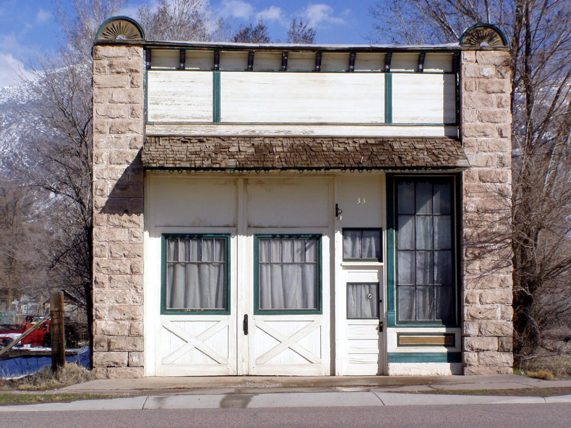 H O Magleby Furniture Store In Monroe Ut As It Is Today