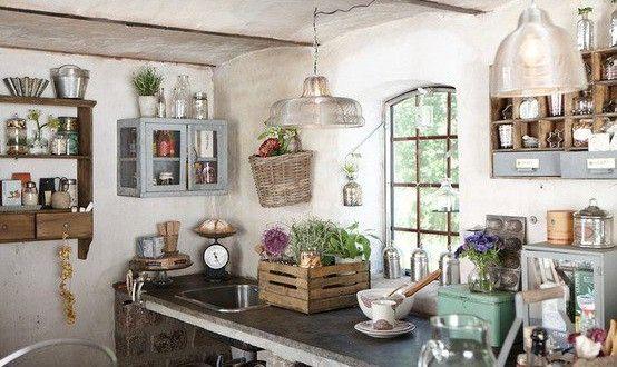 Cucina in stile shabby chic? Facile e fantastico! - Casa Italiana ...