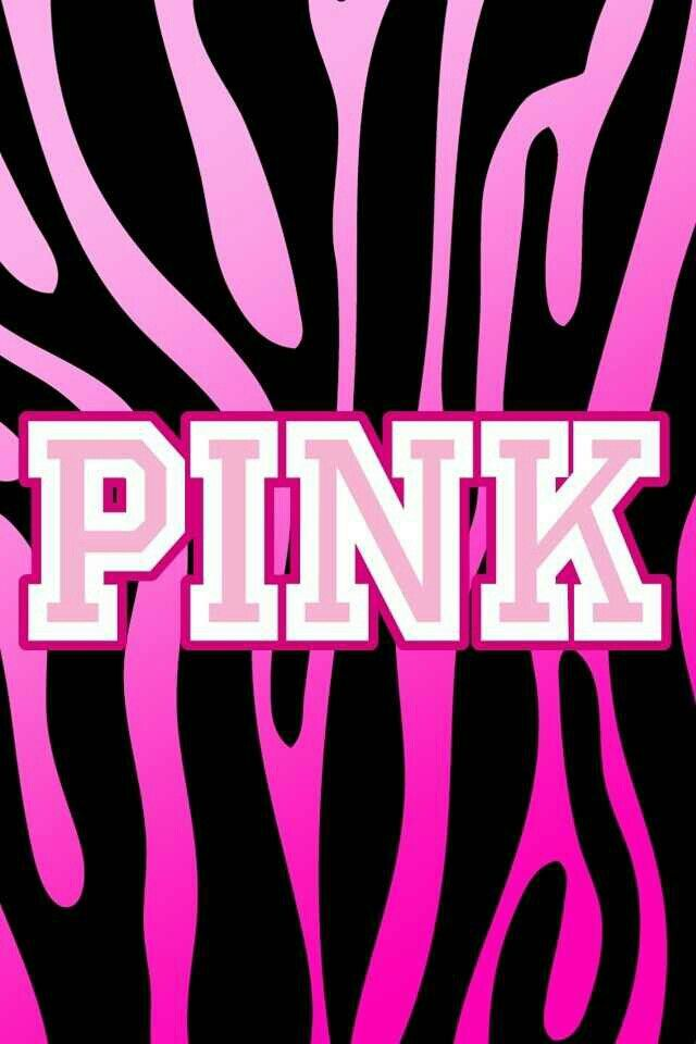 Pink zebra stripe wallpaper | Pink is punk | Pinterest ...