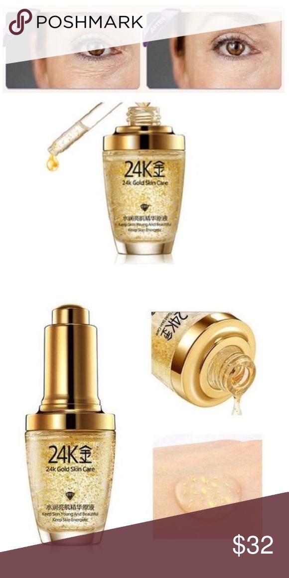 Bioaqua 24k Gold Skin Care Essence Nib Gold Skin Skin Moisturizer Skin Care