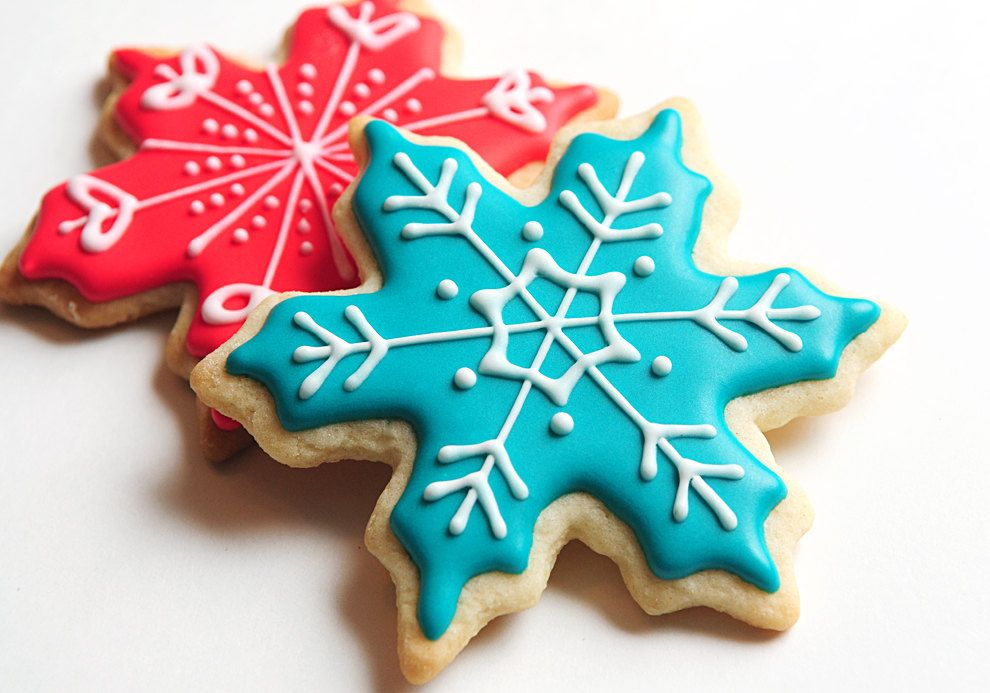 Snowflake Favors Winter Wonderland Party Winter Birthday Party