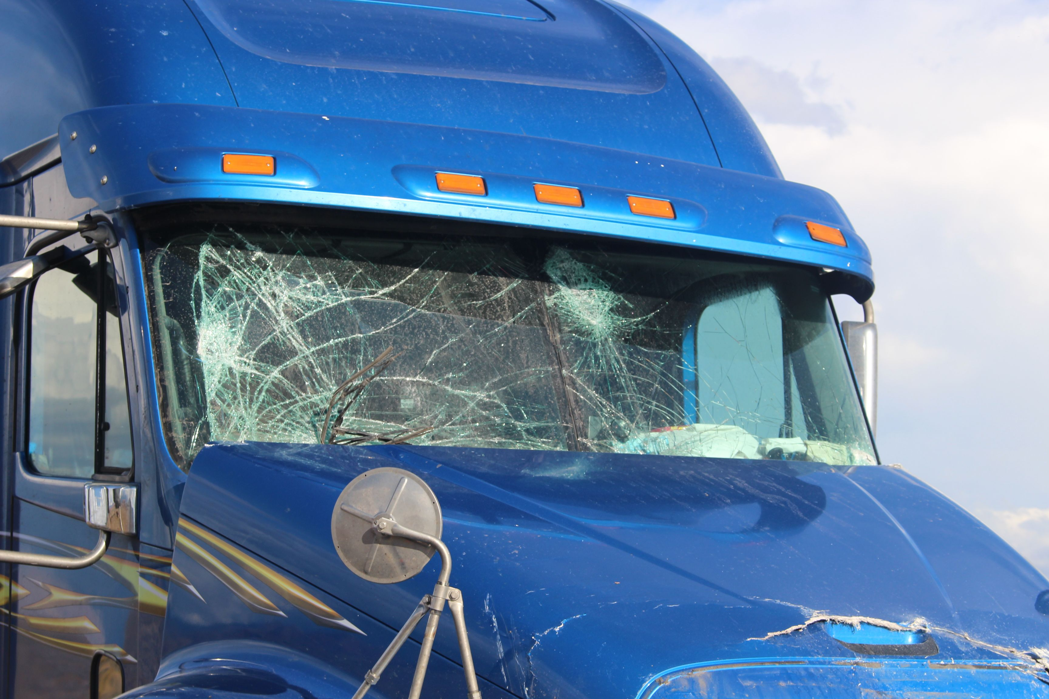 CDL driving truck having Accidental injuries What occurs