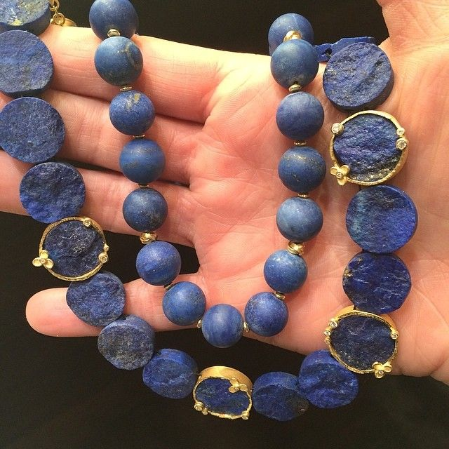Barbara Heinrich is predicting lapis is going to be the perfect go to stone for summer...