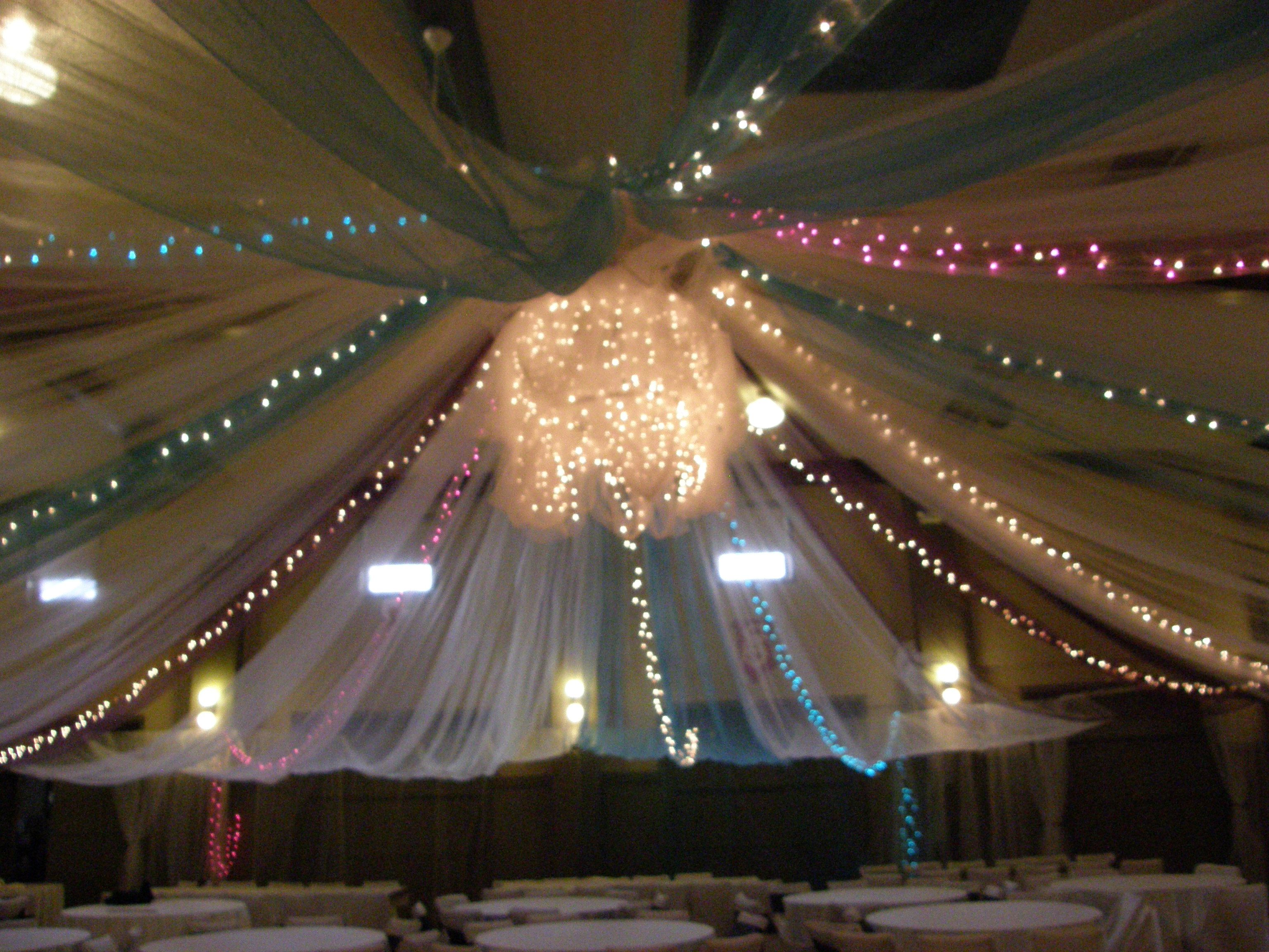 Tulle Ceiling Tulle Ceiling Wedding Decorations Hunter Wedding