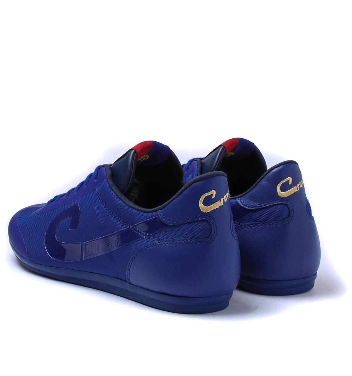 Cruyff Vanenburg X Lite Tech Blue Trainers #menswear #style