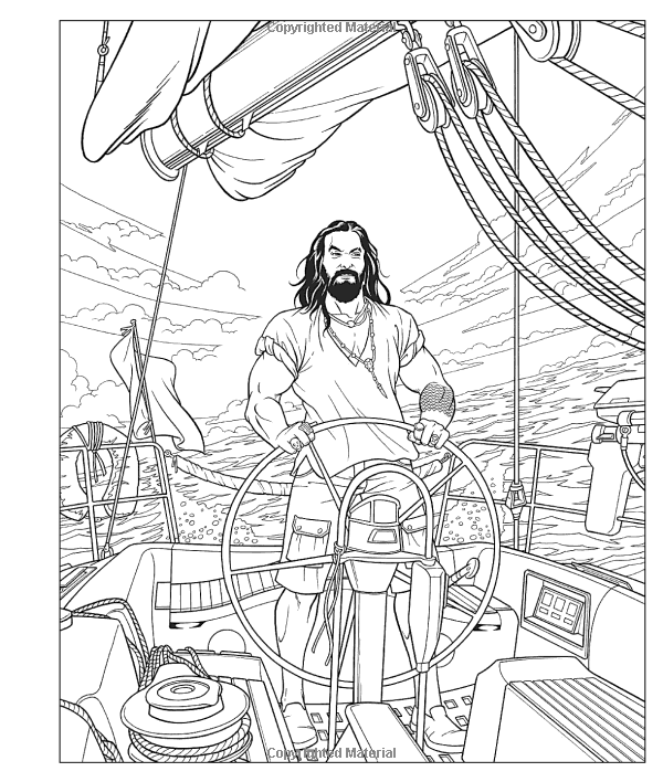 Amazon Com Crush And Color Jason Momoa A Coloring Book Of Fantasies With An Epic Dreamboat 9781250256 Cool Coloring Pages Coloring Books Beautiful Drawings