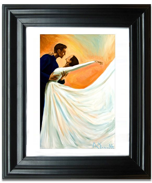 Paintings For Sale Online Part - 21: Oil Paintings For Sale Online - Je Suis Tombe Amoureux (Iu0027ve Fallen In Love)