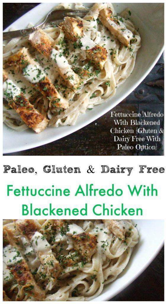 Paleo Fettuccine Alfredo With Blackened Chicken Recipe Paleo