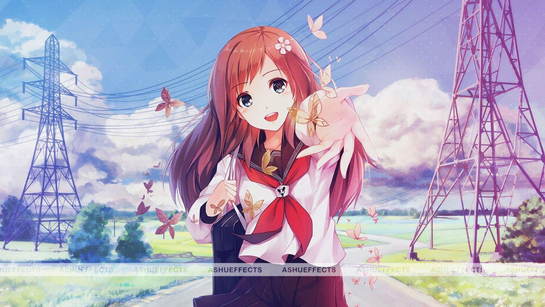 Anime Girls Wallpapers Full Hd Animasi