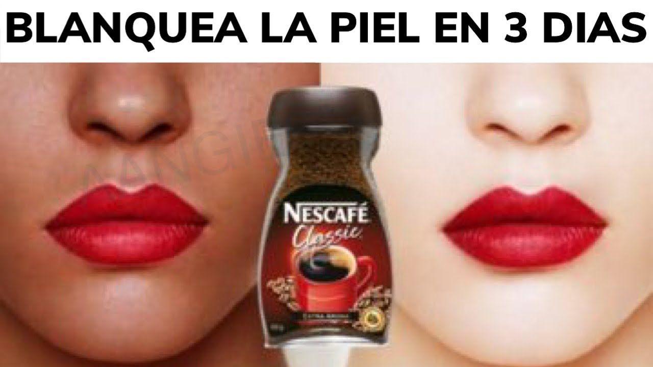Blanquea La Piel En 3 Dias Con Cafe Crema Casera Aangie Youtube Blanquear La Piel Tratamientos De Belleza Recetas De Belleza