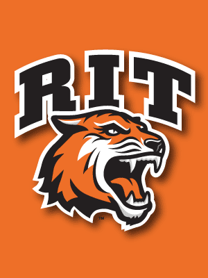 Rochester Institute Of Technology Tigers Ncaa Division I College Hockey America Henrietta Ny Sports Logo Rochester Institute Of Technology Sport Branding