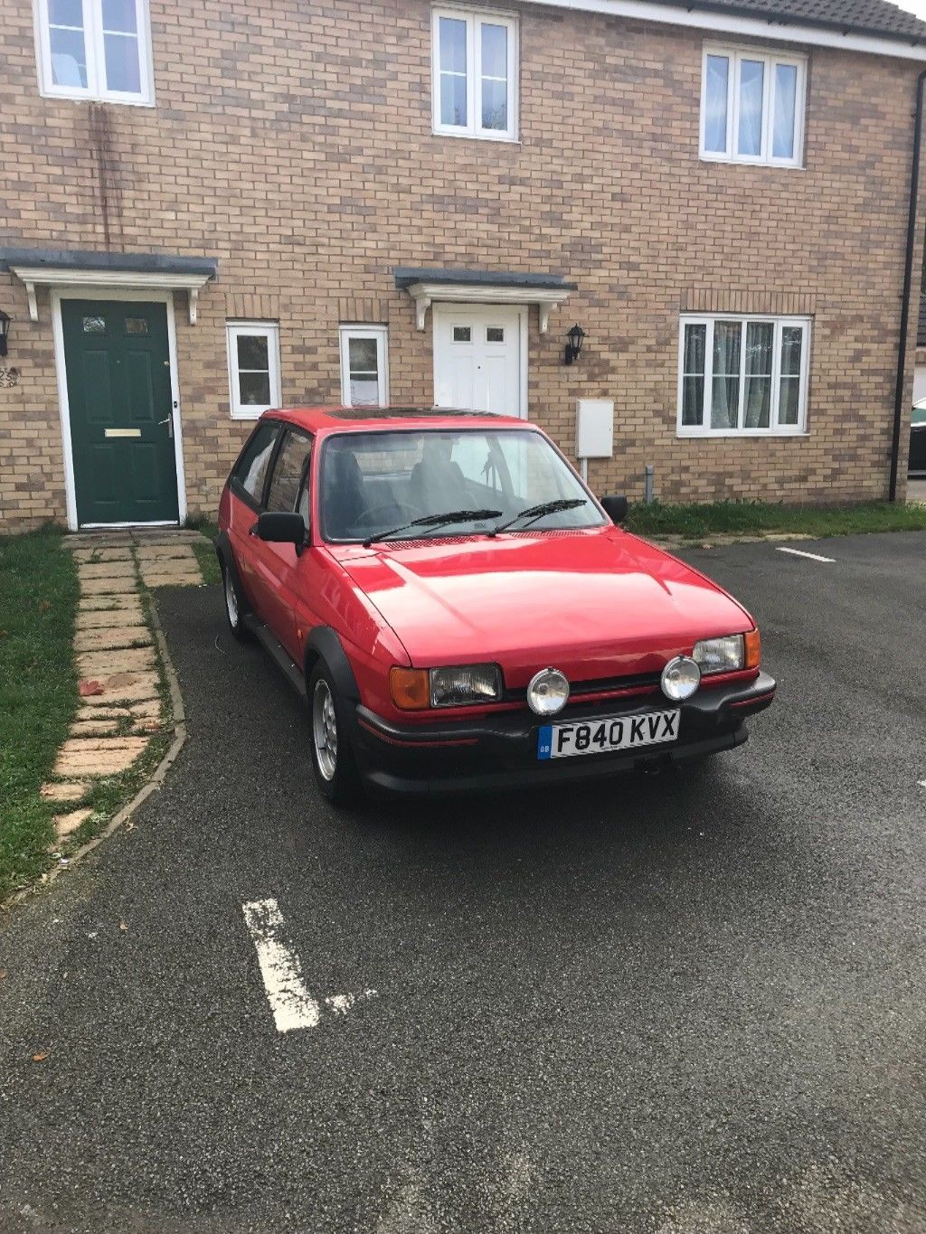 Check Out This Fast Ford Ford Fiesta Xr2 Mk2 2 0 Zetec Ford Fiesta Ford Fiesta