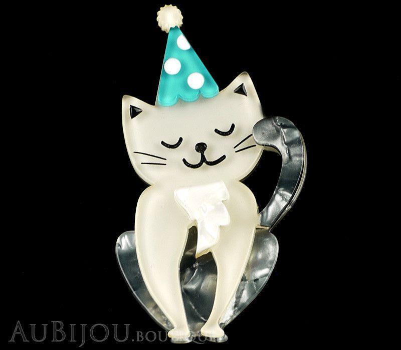 Erstwilder 5th Birthday Party Animal Cat Brooch Pin