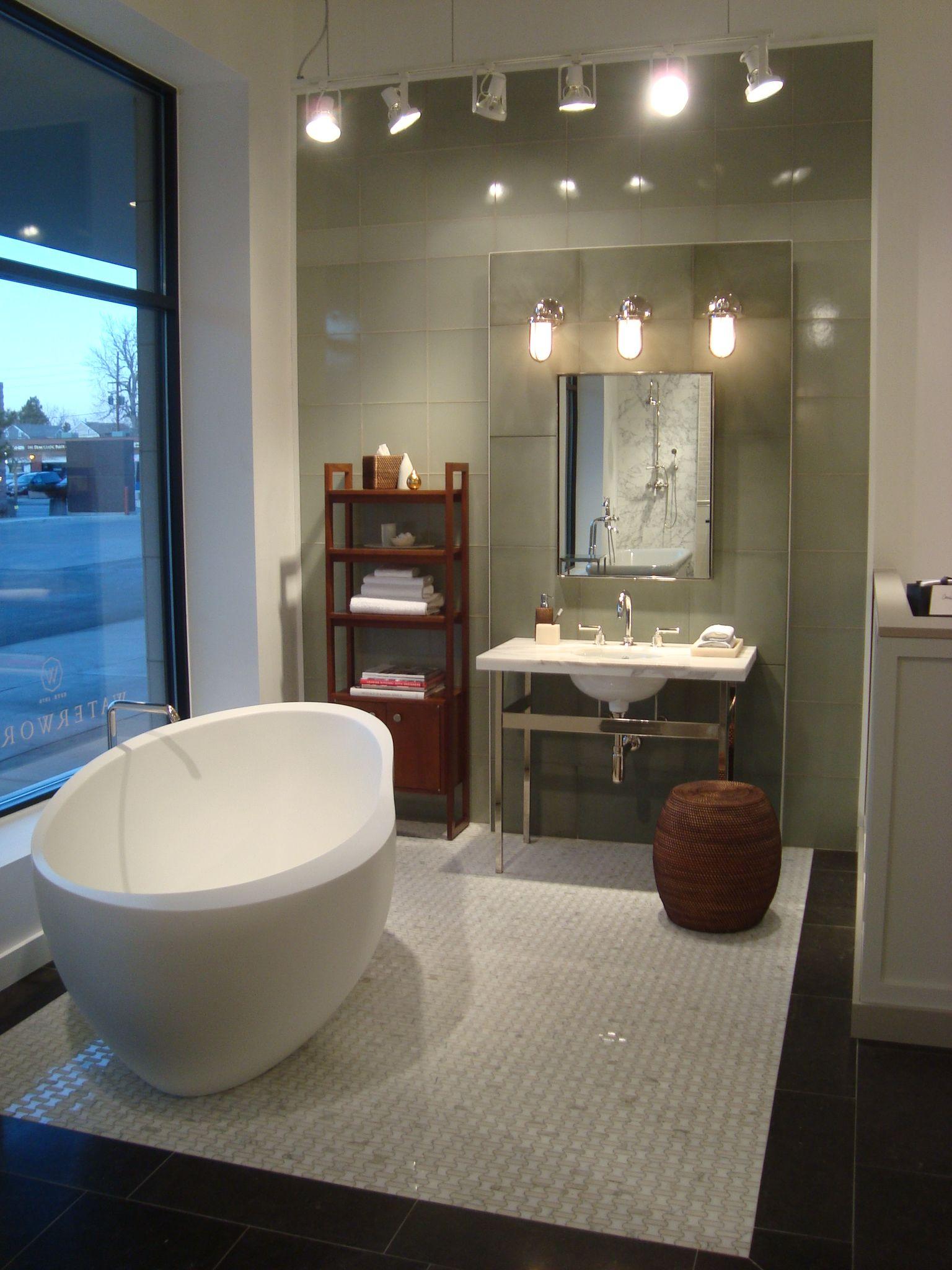 Denver Design District Showroom Bathroom Display