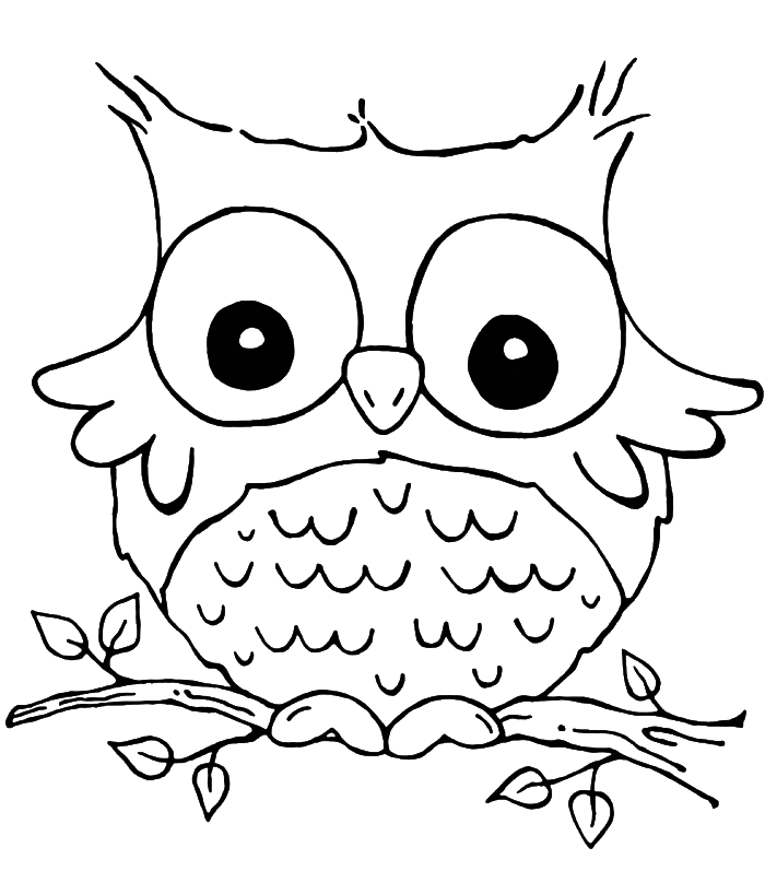 owlColoring Page Son Of Funny Grieving Owl Coloring Pages Owl