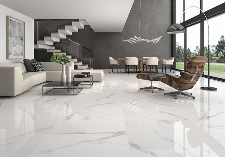 Perfect Living Room Marble Floor Design For Home And View