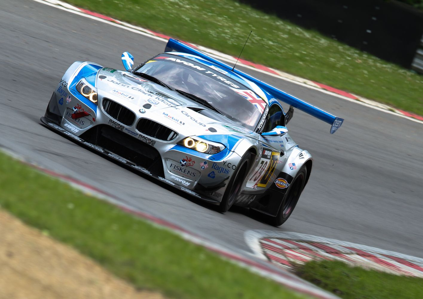 British Gt Championships Bmw Brands Hatch England