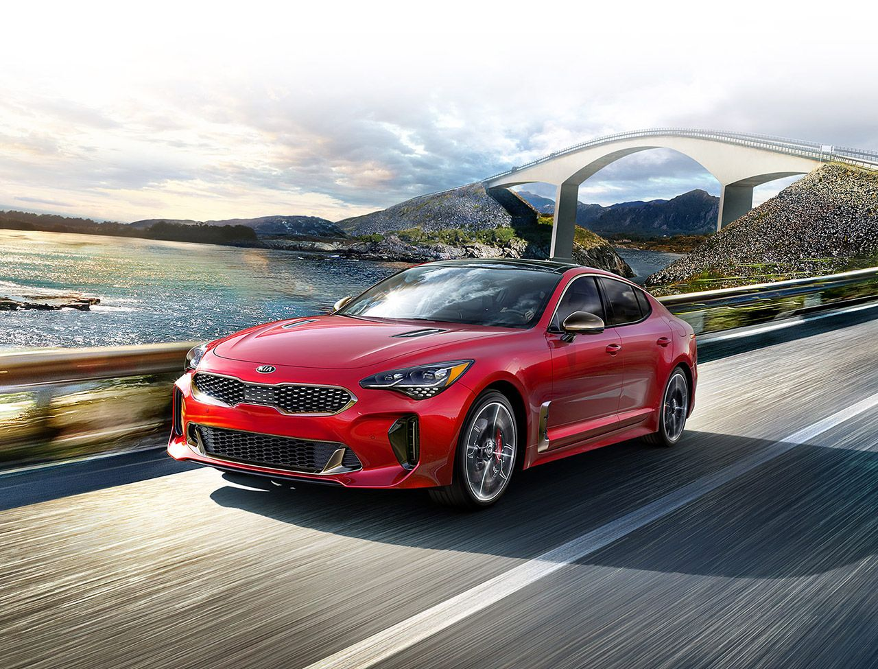 2019 Kia Stinger Sports Sedan Kia Stinger Sports Sedan Sedan