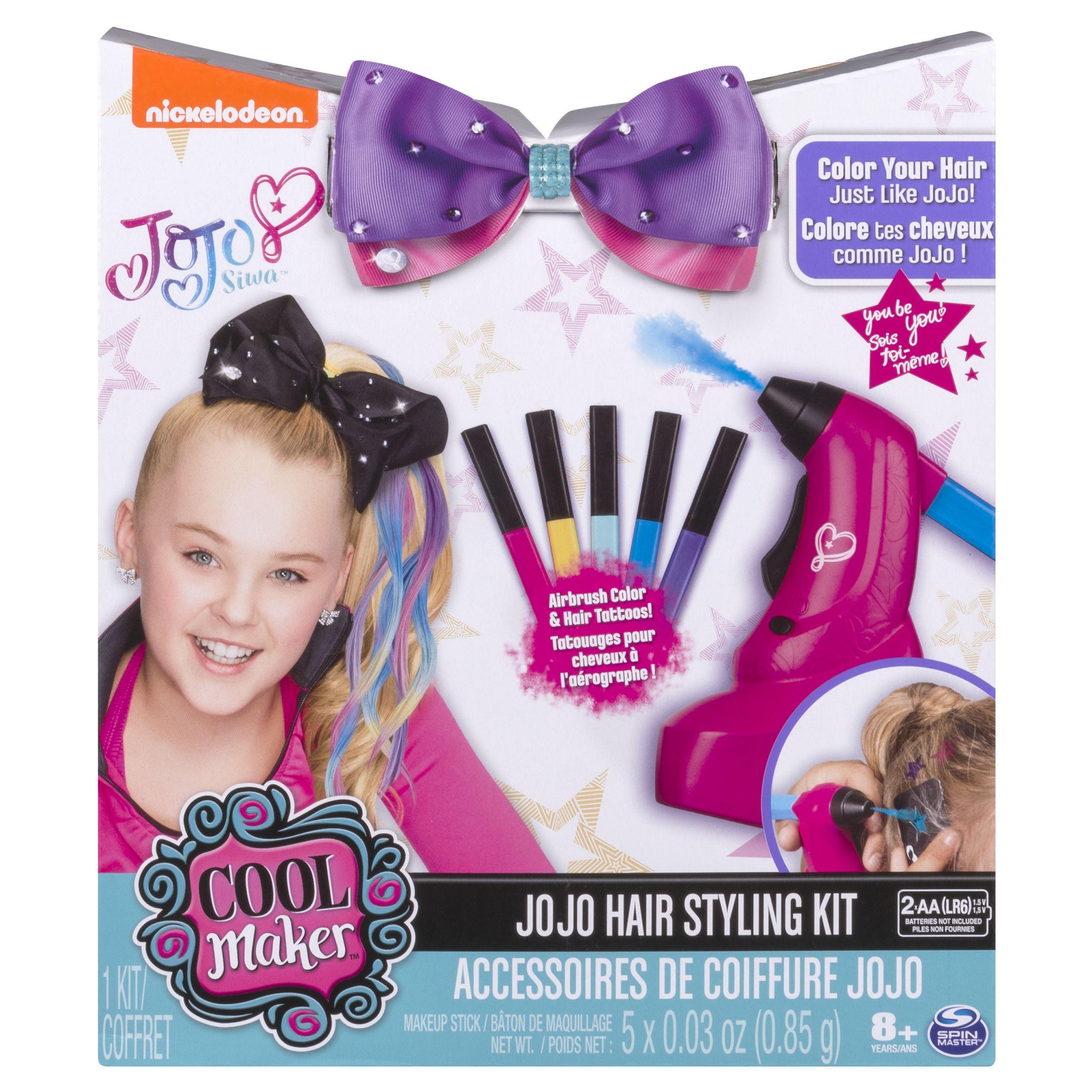 Jojo Siwa Hair Styling Kit Airbrush Highlights And Hair Tattoos Jojo Siwa Hair Jojo Siwa Outfits Jojo Siwa Bows