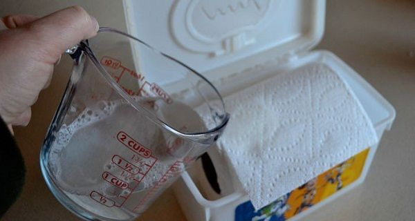 Le Danger Des Lingettes Pour Bebe Voici Comment Fabriquer Vos Propres Lingettes