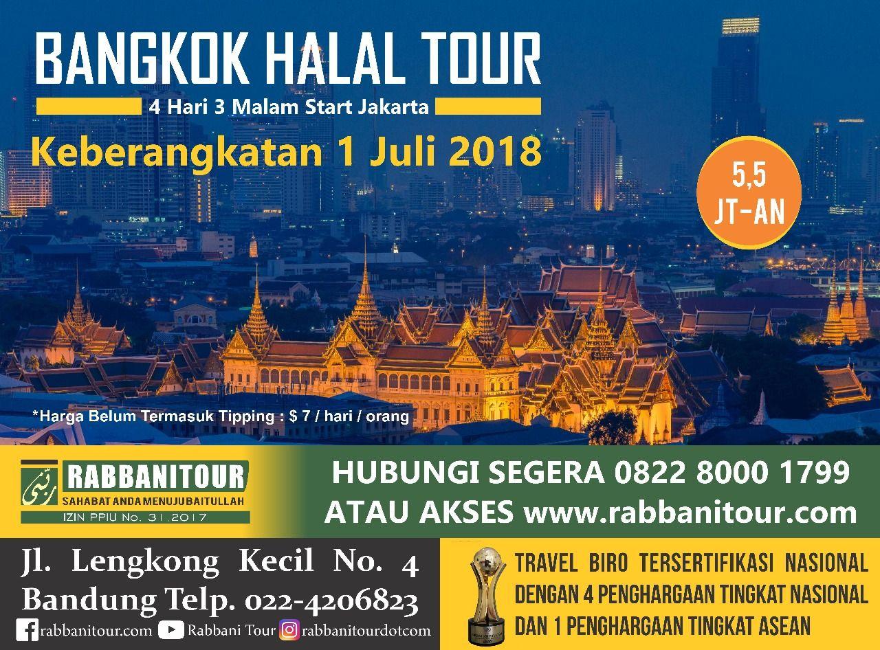 Wisata Halal Ke Negeri Seribu Pagoda Bangkok Thailand