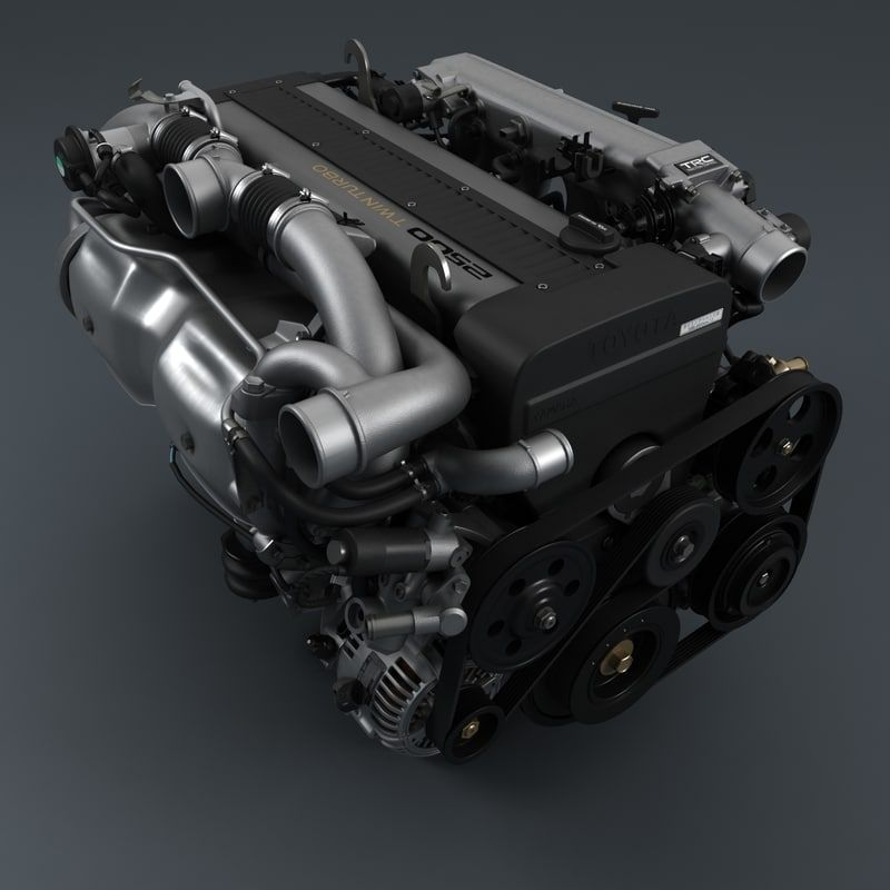 lite engine 1jz-gte 3d max | รถยนต์ | Engineering, Cars, Jdm