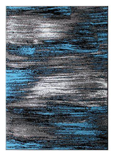 Masada Rugs Modern Contemporary Area Rug Blue Grey Black 5 Feet X 7 Http Www Dp B019933y88 Ref Cm Sw R Pi Nnb