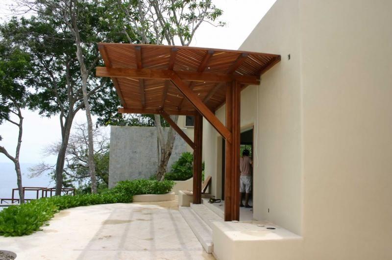 Pergola de madera arquitectura pinterest madera for Pergolas de madera precios